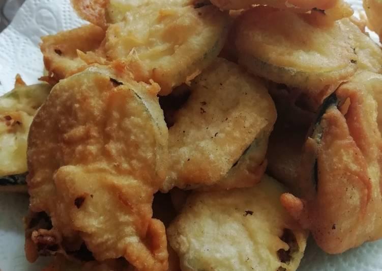 Zucchini Chips mit knuspriger Kruste