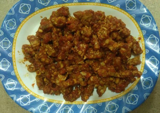 sambal goreng tempe kering - resepenakbgt.com