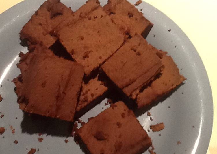Recipe: Delicious Hacked And Healthy Fudgey Brownies (No Gluten / Sugar / Low Fat)
