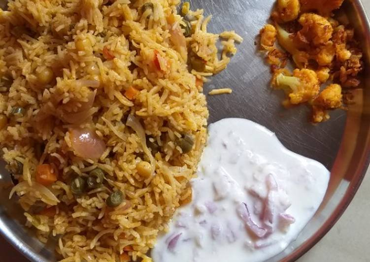 Step-by-Step Guide to Make Favorite Vegetable biryani