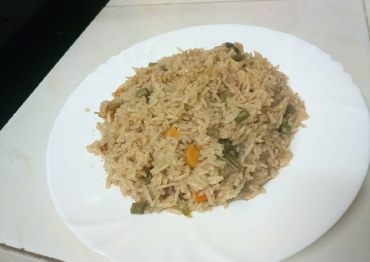 15 Minute Recipe of Love Vegetable pilau
