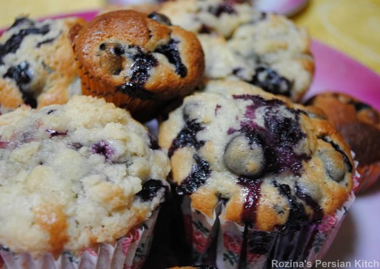 Recipe: Perfect My blueberry muffins