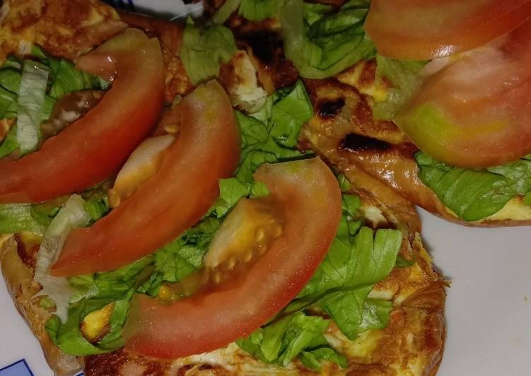 Cara Mudah Masak: Roti John croissant classic  Dirumah