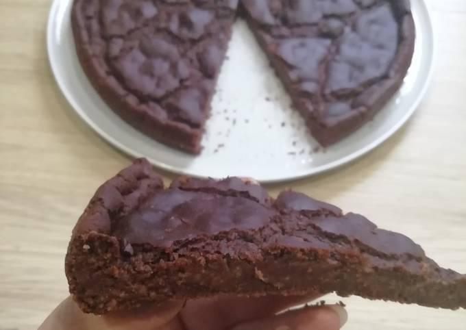 Brownie vegan/gluten free au cacao et haricots rouge 😊