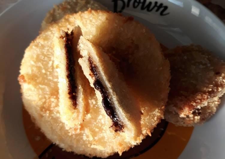 Resep Roti tawar goreng cemilan anak – roti coklat Bikin Ngiler