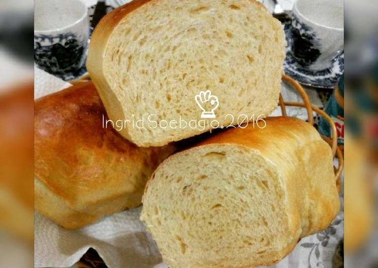 Roti tawar / Classic White Bread