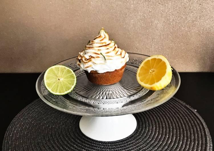 Muffins façon tarte citron meringuée