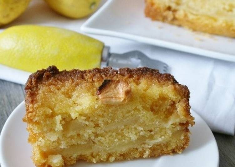 La Meilleur Recette De Cake polenta citron-pommes