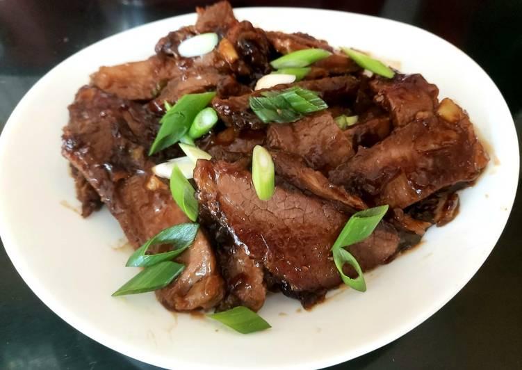 My Mongolian Beef 🤩