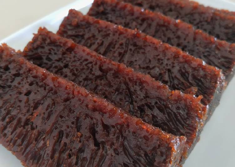 cara masak Bolu Karamel (Bolu Sarang Semut) - Sajian Dapur Bunda