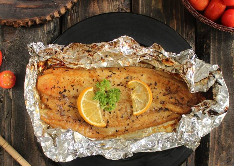 Resep Baked Dory In Foil Oleh Dapur Linna Cookpad