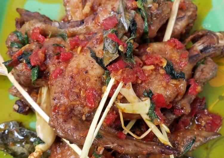 Ayam rica kemangi (bahan seadanya)