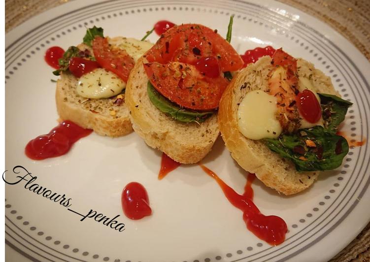 How to Cook Yummy Bruschetta