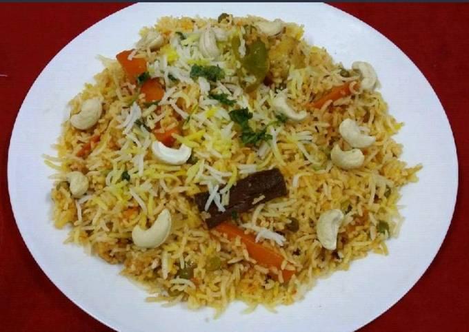 Recipe of Gordon Ramsay Hyderabadi Tarkari Ki Dum Biryani