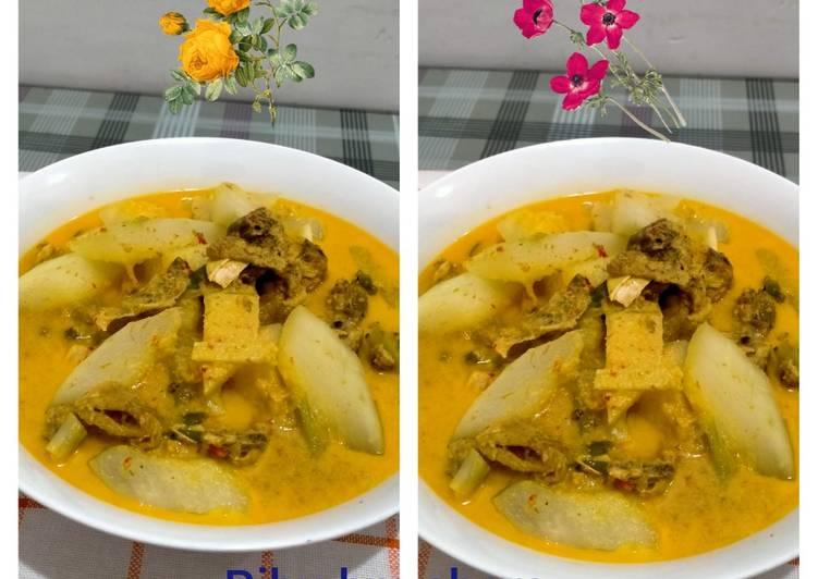 Resep Gulai Ayam & Gundur Anti Gagal