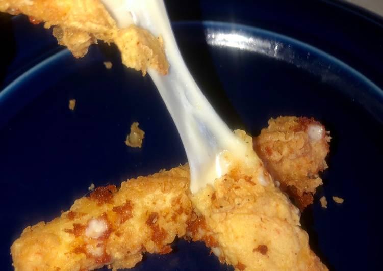 Recipe: Yummy Ooey gooey cheese sticks