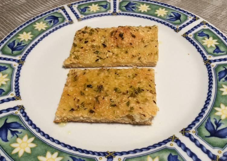 Focaccia de queso grana padano 🇮🇹