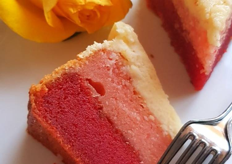 How to Prepare Top-Rated Strawberry Cheese Layer Cake