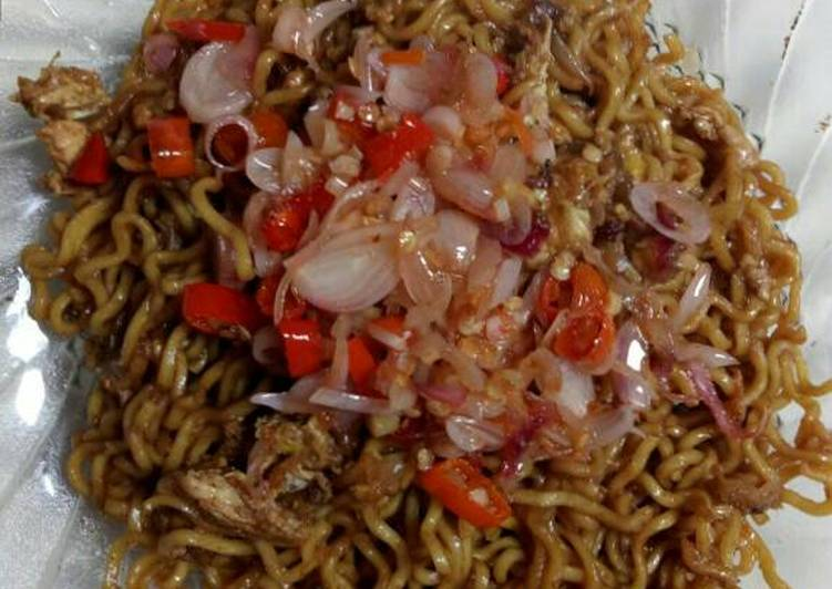 Resep Mie Goreng Sambal Matah Oleh Wulan Rachmawati Cookpad