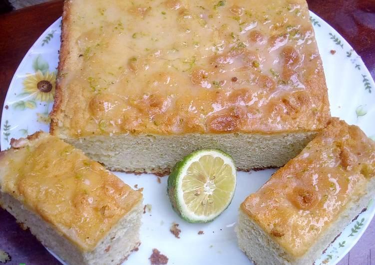 Lemon Drizled cake #4weeksChallenge #Wheatflourrecipecontest