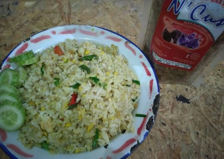 Nasi Goreng Kampung (nasi goreng kencur)