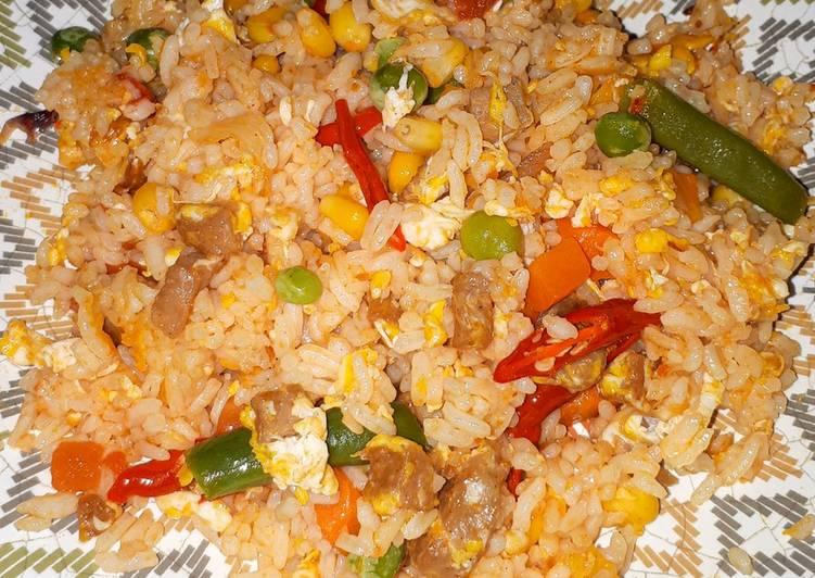 Resep Nasi Goreng Sayur Sehat Spesial Bikin Ngiler