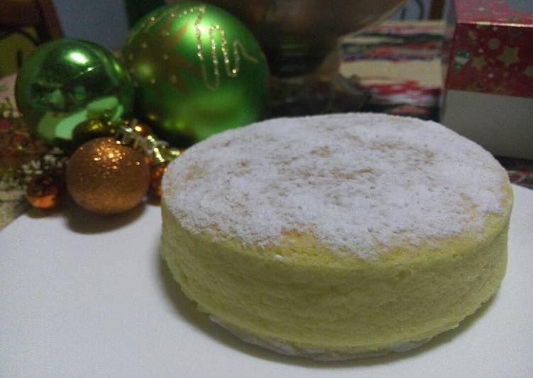 10 Minute Step-by-Step Guide to Make Super Quick Homemade Easy Souffle Cheesecake