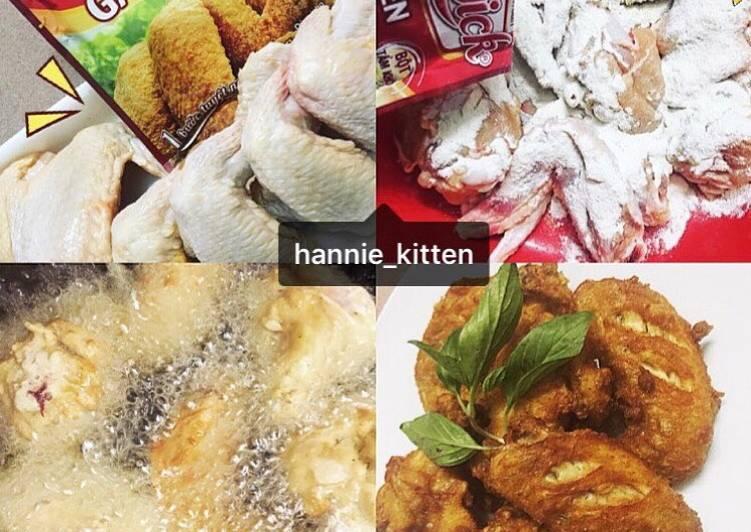 cách làm món gà tẩm bột chiên giòn ajiquick fried chicken