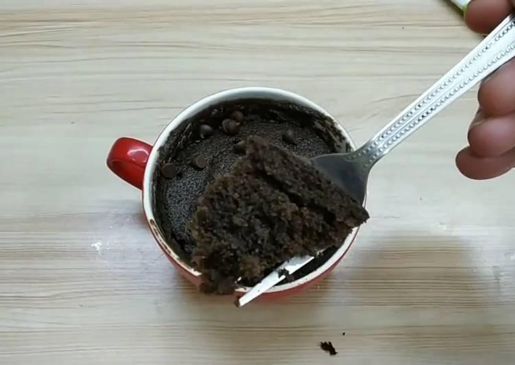 Oreo microwave cake