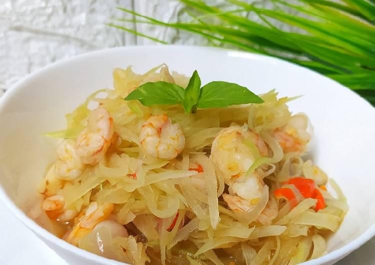 Patah Seafood (Pepaya Mentah)