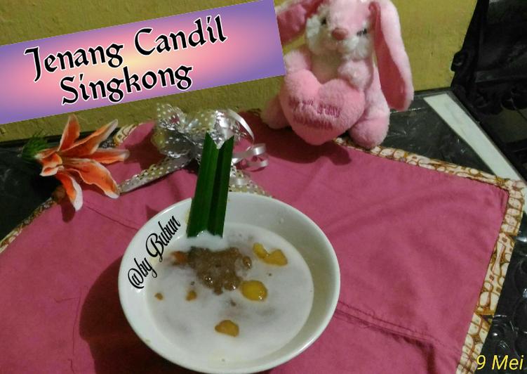 Jenang Candil Singkong 25 Ramadhan 1441 H