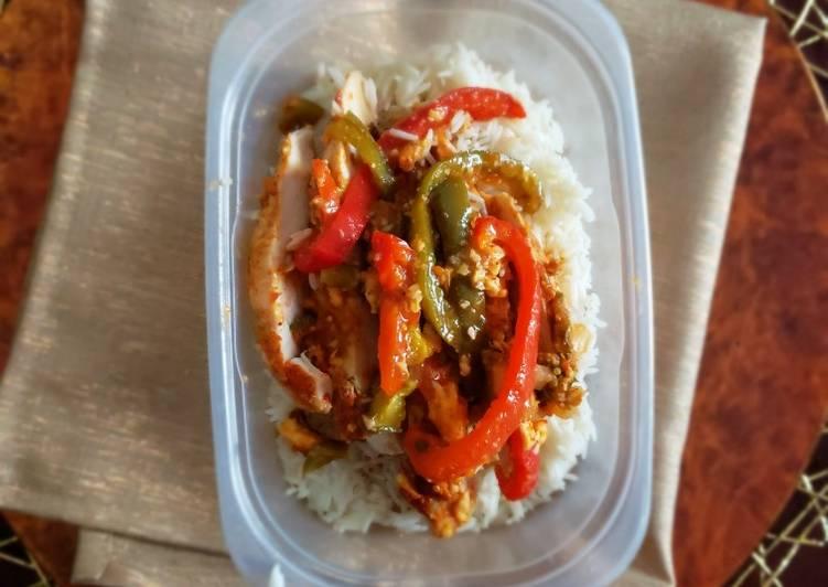 Recipe: Appetizing Easy fajitas