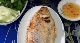Hình ảnh món Cá Điêu Hồng Chiên Tươi & Canh Cải Bẹ Xanh Nấu Thịt Bằm