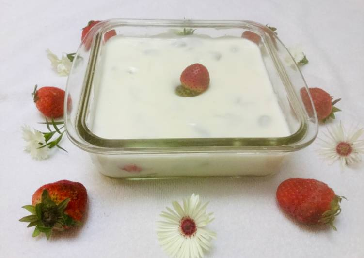 Simple Way to Make Perfect Fruit Cream