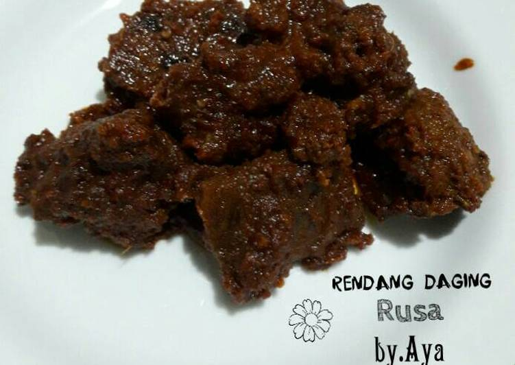Rendang Daging Rusa
