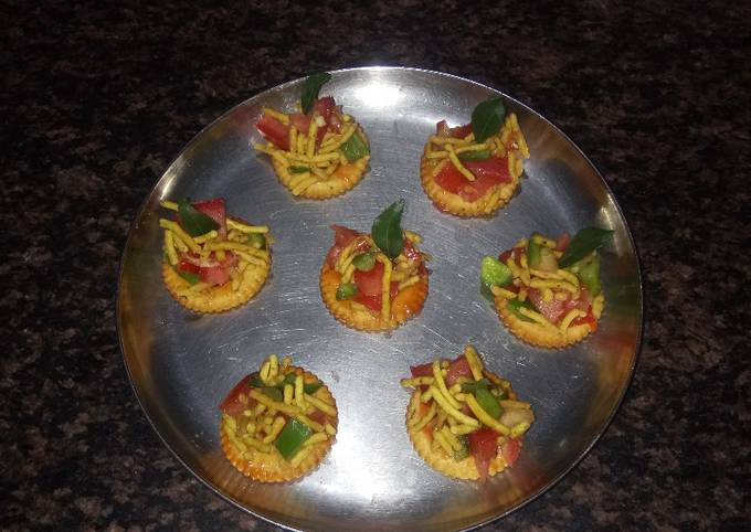 Easiest Way to Make Appetizing Biscuit snacks chat