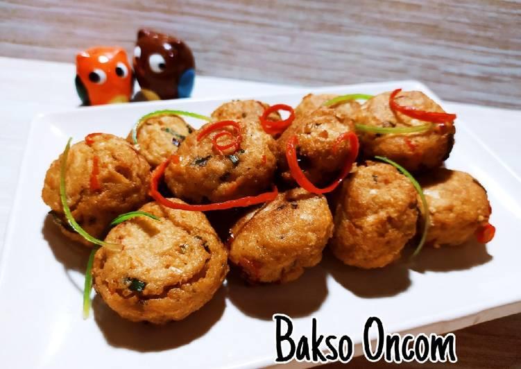 Bakso Oncom