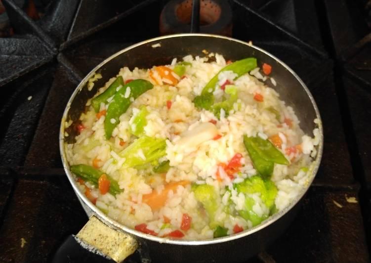 Broccoli Pimento Rice
