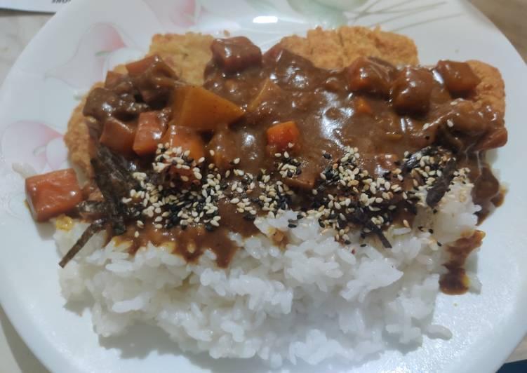 Katsu Curry Rice (カツカーレライス)
