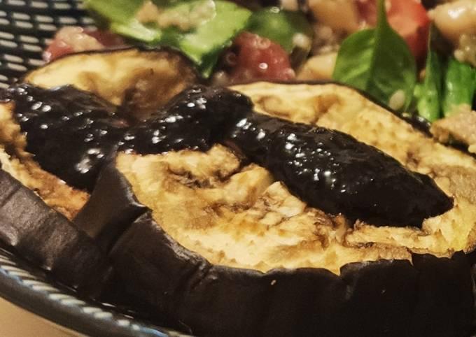 Aubergine sauce dengaku-miso