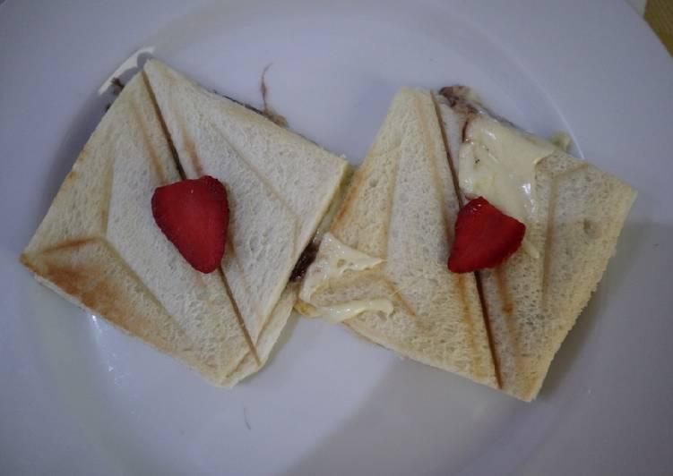 Resep Roti panggang mozarella snack anak 2tahun keatas Terbaik