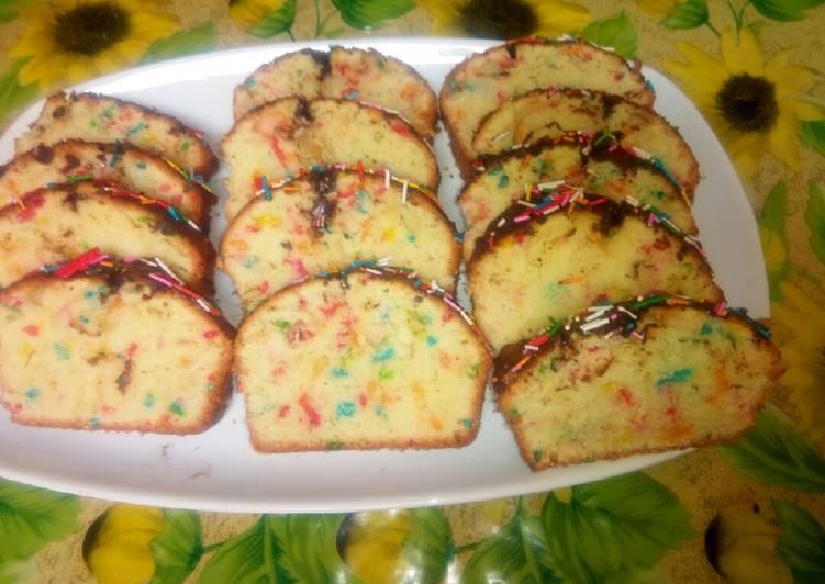 Recette Des Cake au chocolat vermicelle