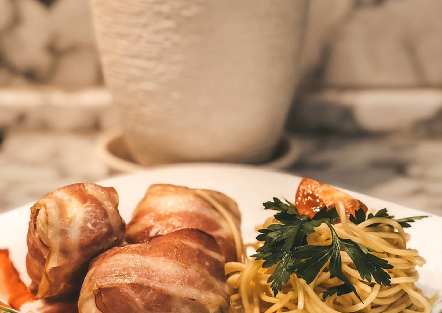 мясо в беконе рецепт с фото разных