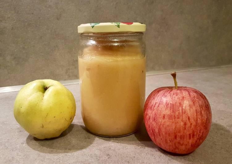 La Délicieuse Recette du Compote pomme coing