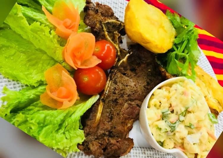 Whosayna's T-bone Steak