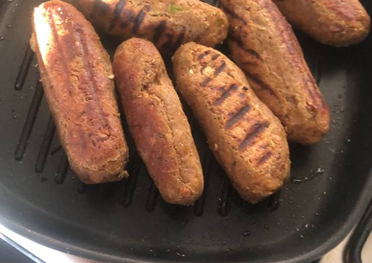 Old Fashioned Dinner Easy Love Kale chane ke kebabs