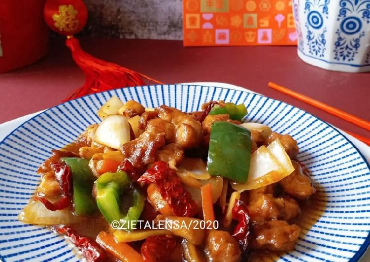 Ayam Masak Kung Pao - velavinkabakery.com