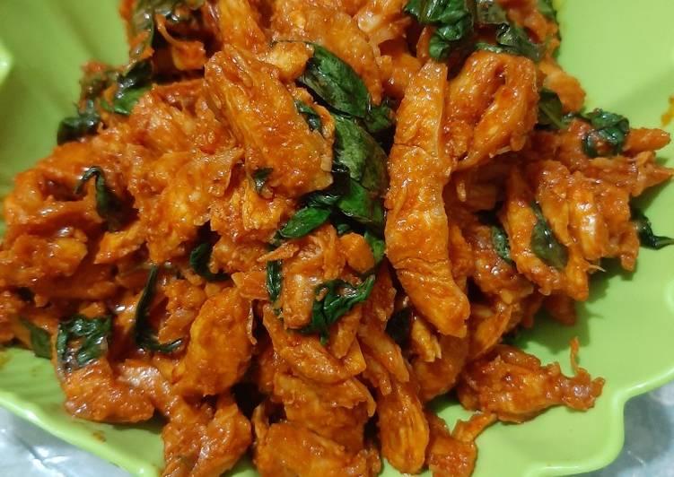Ayam siwir sambal kemangi