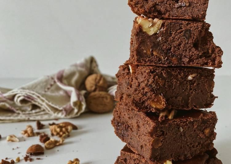 Comment faire Préparer Parfait Brownie sain