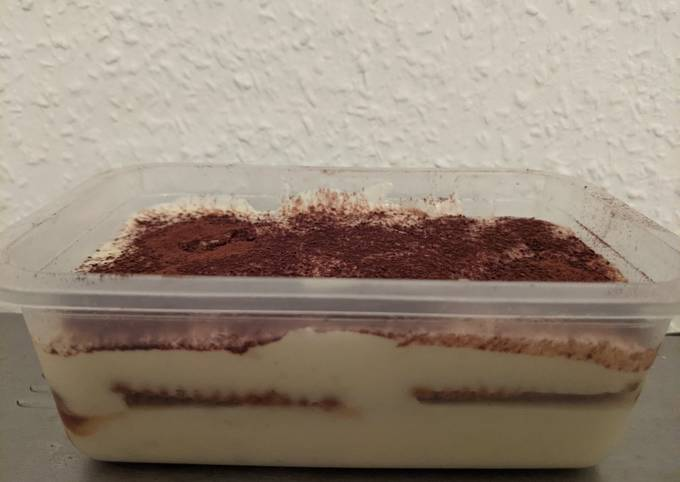 Tiramisu Desert Box